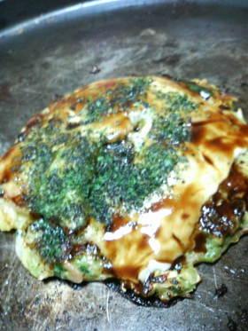 関西人が作るとろっとチーズお好み焼き