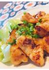 鶏むね肉のチリマヨポン酢照り焼き