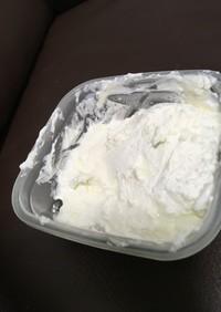 生クリームで手作りバター♡
