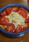 舞茸と鯖のトマト100%ジュースグラタン