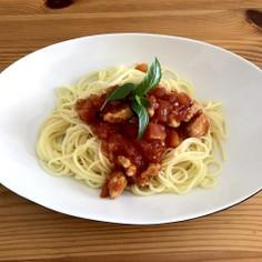 イタリア風!簡単トマトの冷やし中華