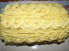 絶品・簡単!南瓜クリームのロールケーキ