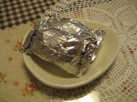 蒸しパン?チーズとろり簡単ホイルケーキ