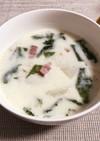 カブのミルクスープ