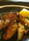 牡蠣の豚巻ソテー(腎臓病食)