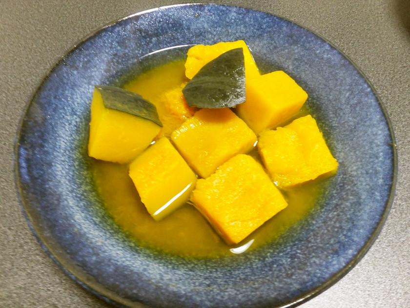 かんたん15分調理!冷凍かぼちゃの煮つけ