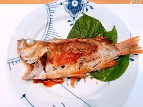 ☆蒸し魚にうおダレ