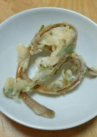 【野草レシピ】スベリヒユの天ぷら