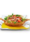しめじと豚肉の包み焼きサラダ