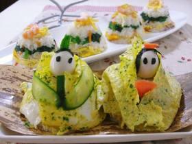 ひな祭り子供が喜ぶ★かわいいちらし寿司★