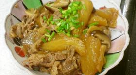 中華風★大根と豚肉のオイスター煮