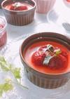 簡単♡苺のパンナコッタ