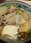 すき焼き風2♪ 焼き豆腐と肉とねぎの煮物