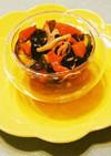 トマト&ワカメ&胡瓜&カニかまの酢の物