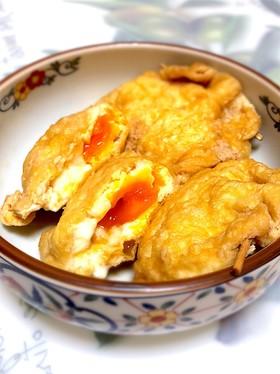 油揚げと卵で簡単♫袋煮