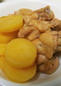 簡単☆美味しい鶏手羽元とじゃがいもの煮物