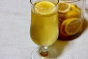 レモンと生姜の蜂蜜漬けソーダ割りの写真