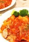 簡単炊飯器料理♪鶏のとろとろトマト煮込み