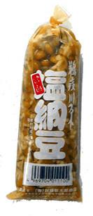 塩納豆マグロ丼