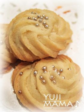 卵白救済!うまいサクサクぐるぐるクッキー