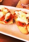 ラタトゥイユのせチーズトースト