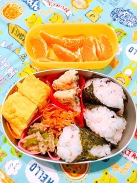 幼稚園お弁当 3歳0ヶ月①