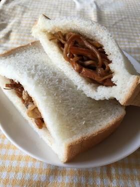 残り焼きそばで焼きそばパン