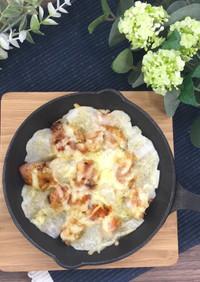 ニトスキで簡単10分!チーズ鶏餅