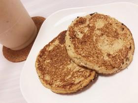 【小麦✕】バナナパンケーキ【ダイエット】
