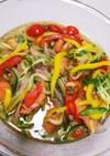 鮭とカラフル野菜の南蛮漬け❤️