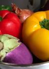 夏野菜のカポナータ