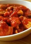 トマト缶で簡単☆鶏もも肉のトマト煮