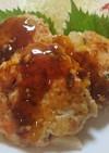 長芋と鶏のハンバーグ×SHiBORO