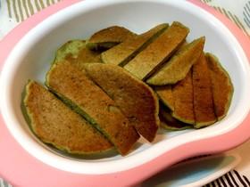 チョコバナナのパンケーキ(離乳食完了期)