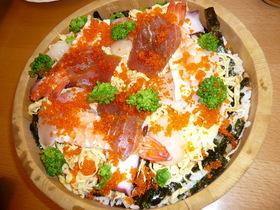 とっても簡単♡海鮮ちらし寿司