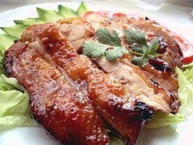ベトナム風 鶏もも肉の照り焼き