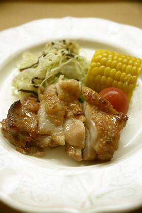 自家製梅ジャム使用 鶏肉のてりてり焼き