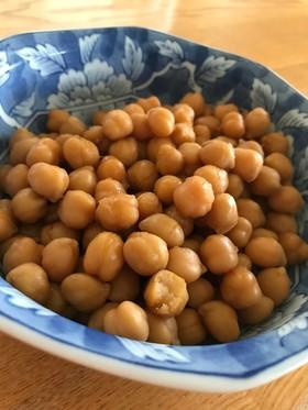 簡単一品ヘルシー副菜☆ひよこ豆の生姜煮