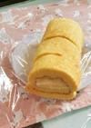 全卵で大豆粉シフォンロールケーキ