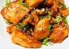 鶏むね肉のコチュジャン焼き