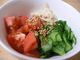 トマト★きゅうりのさっぱり酢の物