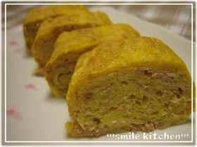 ✿子ブタ達が好きなツナマヨの卵焼き✿