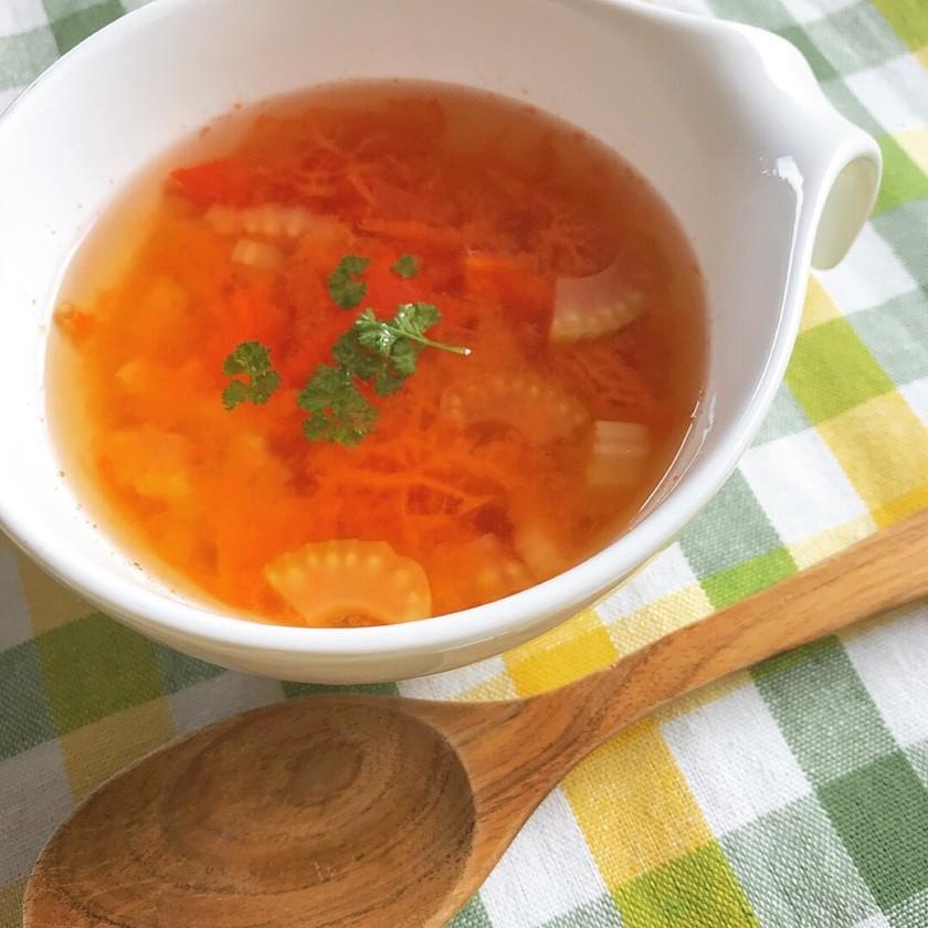 簡単!朝食に◎トマトとセロリのスープ