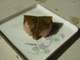 レンジで簡単桜餅