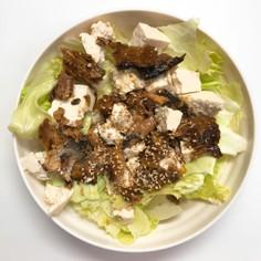 5分で☆満腹!激ウマさんまの蒲焼サラダ