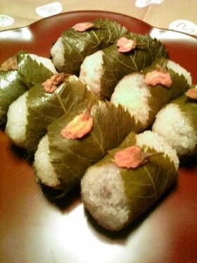 母直伝♡道明寺粉で作る春色桜餅