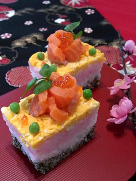 ショートケーキ☆ちらし寿司