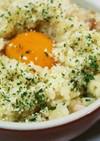 [防災レシピ]ポリ袋deカルボナーラご飯