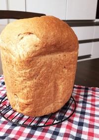 シンプル朝食向き☆小麦ふすま入り食パン