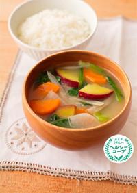 1/3日分の野菜味噌汁
